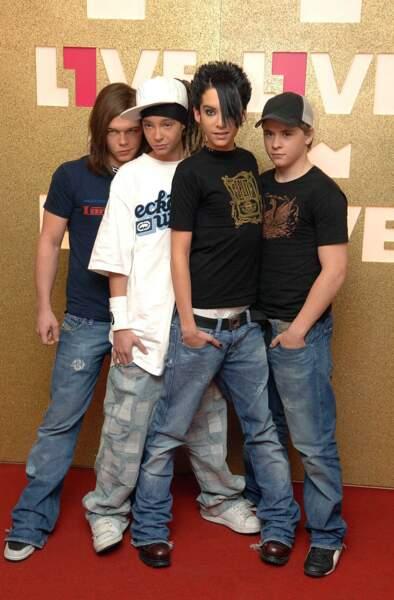 2005. Le grand public découvre le groupe de rock allemand Tokio Hotel.