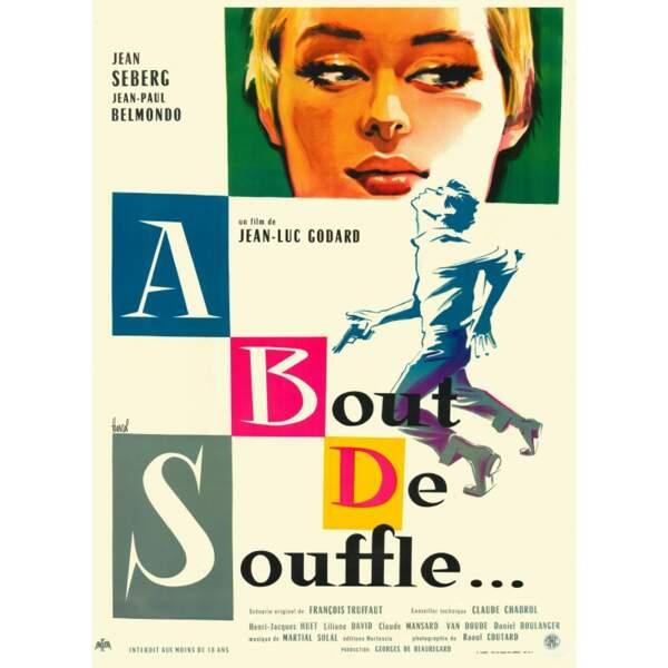 1960 : sous la direction de Jean-Luc Godard, Il partage l'affiche de A bout de souffle, aux côtes de Jean Seberg
