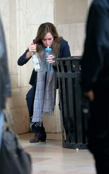 Emily Blunt abuse de la vodka pour le film The Girl on the Train, adapté d'un roman best-seller
