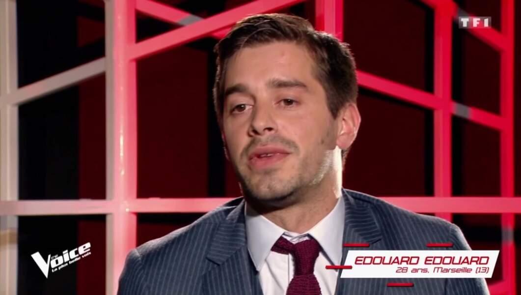 Edouard Edouard, 28 ans, est dans l'équipe de Zazie