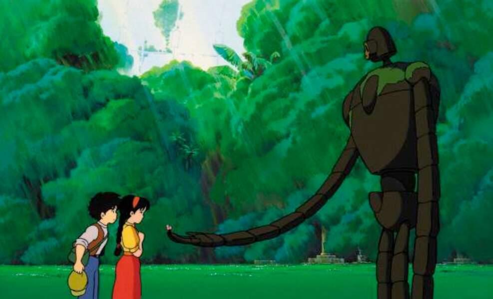 Le château dans le ciel (1986) : et des rencontres mi-féériques, mi-inquiétantes