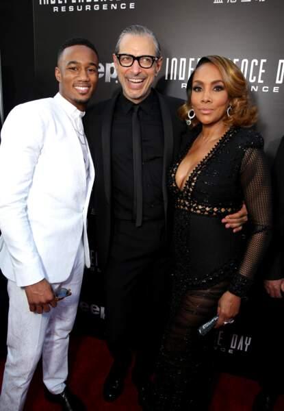 Jessie Usher, Jeff Goldblum et Vivica A. Fox : quel trio !