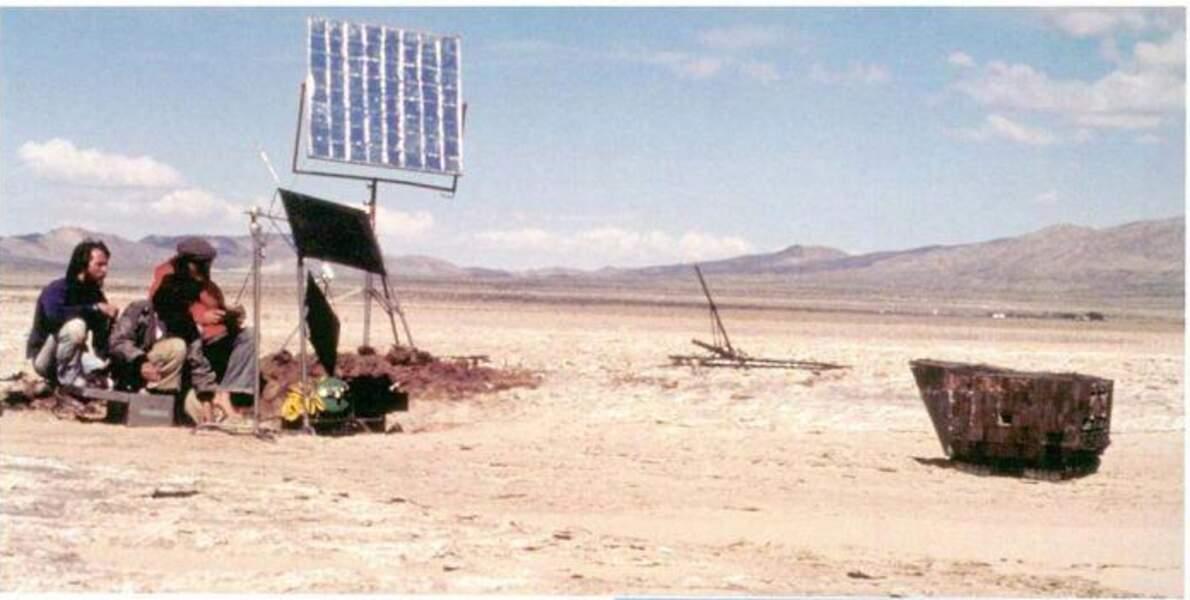 Perdus dans le désert...