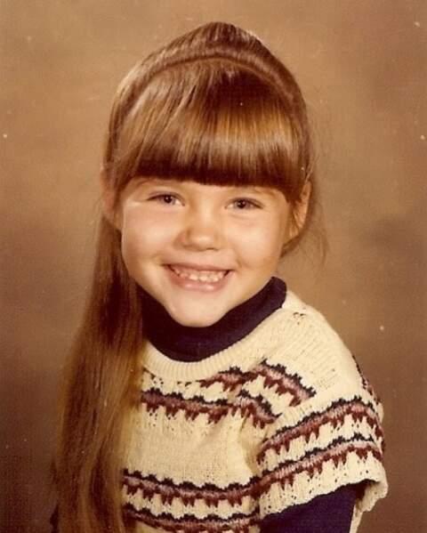 Et Tiffani Thiessen était beaucoup trop mignonne quand elle était enfant.