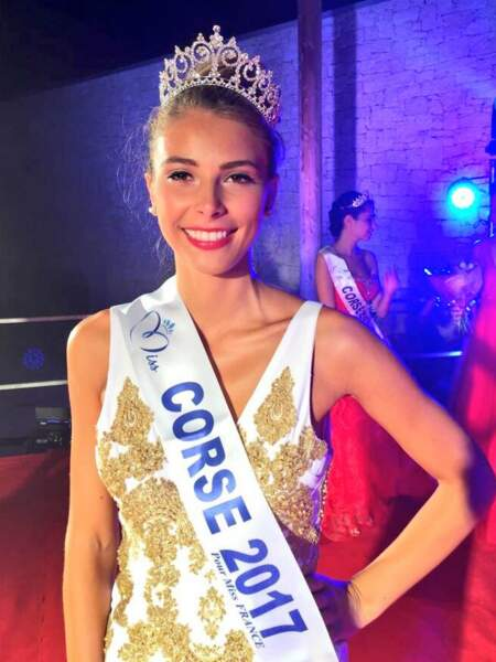 Eva Colas (21 ans) a été élue Miss Corse