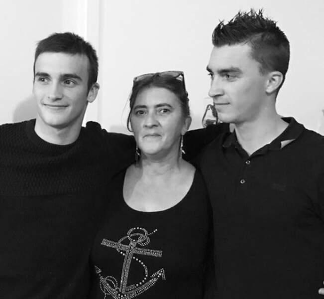 Julian Alaphilippe, son frère et sa mère