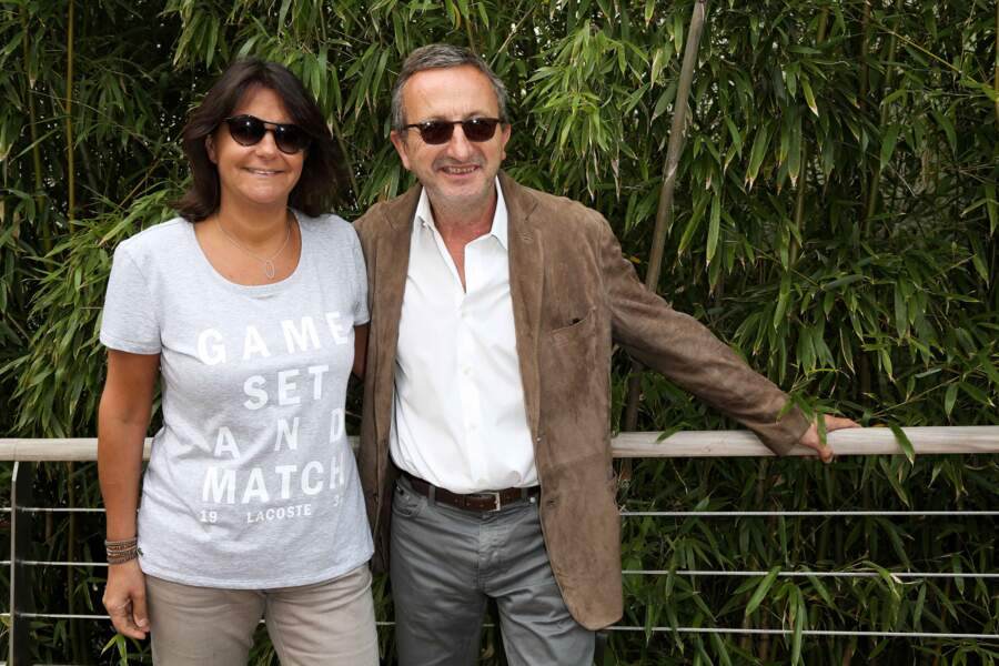 La journaliste Valérie Expert et son mari