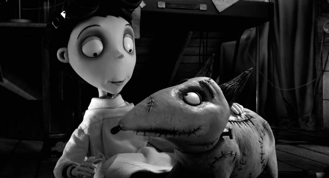Quand Tim Burton revisite le mythe de Frankenstein, c'est à travers le film d'animation Frankenweenie