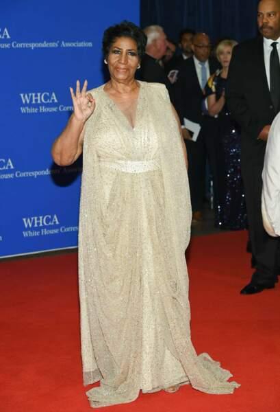 La grande Aretha Franklin pour qui tout est OK !
