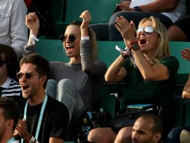 Estelle Lefébure et sa fille Ilona, Robert Pirès, Bob Sinclar... s'offrent du bon temps à Roland Garros
