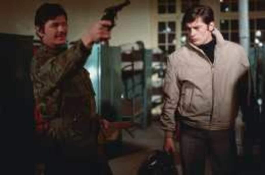 Dans Adieu l'ami (1968), il affronte l'américain Charles Bronson