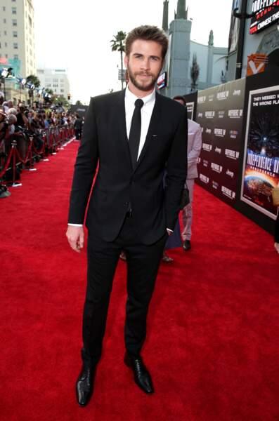 Liam Hemsworth était aussi de la partie, mais sans sa chérie Miley Cyrus