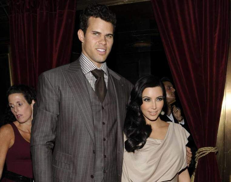 La jeune femme avait épousé Kris Humphries. (Vous suivez ? )