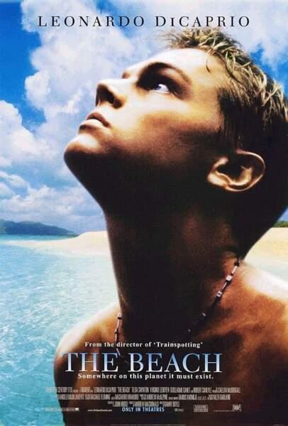 Ouf ! Dany Boyle lui offre le premier rôle de La Plage. Leonardo est seul sur l'affiche américaine !