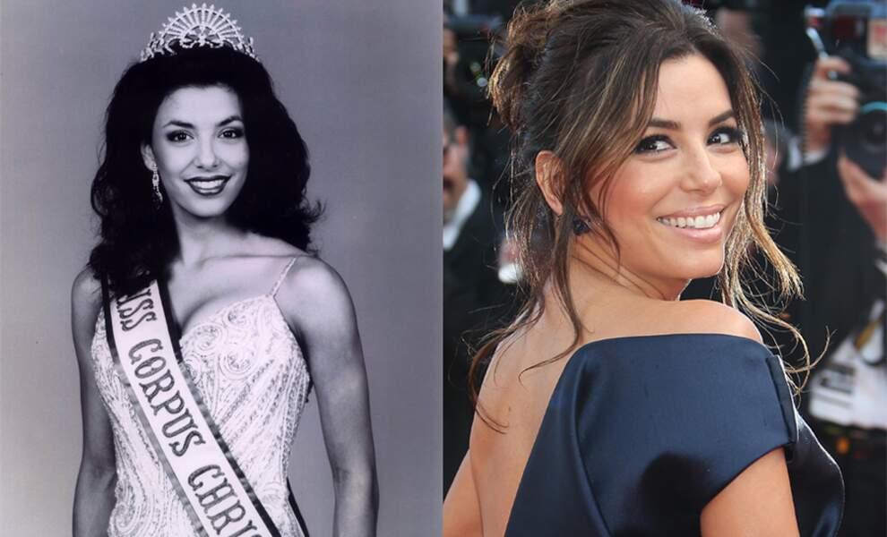 À 23 ans la jolie Eva Longoria a été sacrée Miss Corpus Christi 1998