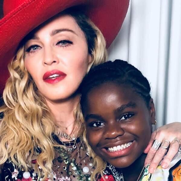 Pour finir, on souhaite un happy birthday à Mercy James, la fille de Madonna.