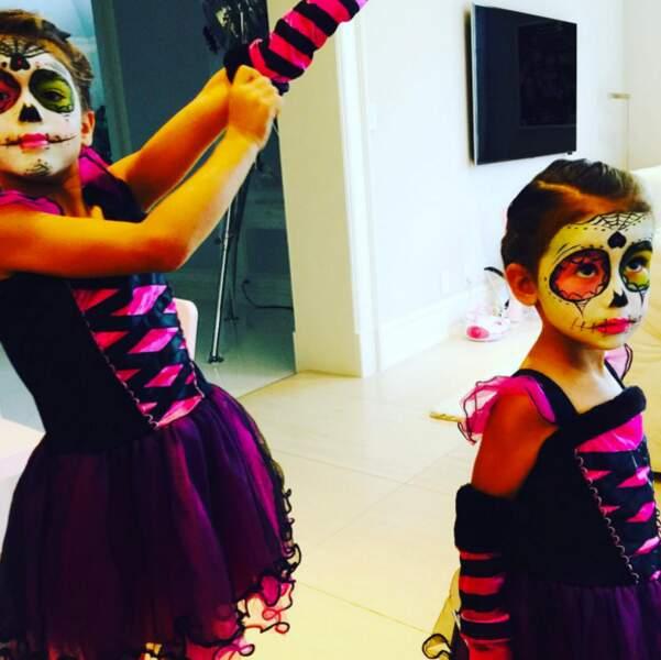 Le look mortel des filles de la mannequin Adriana Lima.