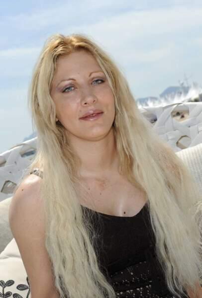 Loana pendant le festival de Cannes en mai 2009