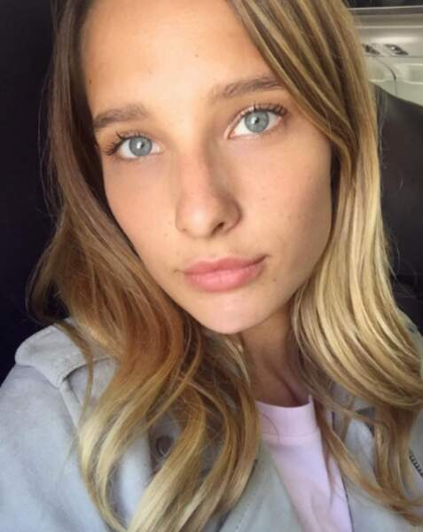 Ilona Smet sans maquillage