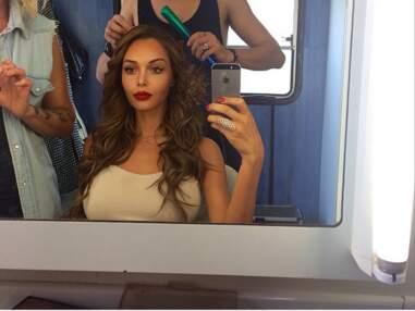 Instagram : Nabilla en shooting, Shy'm en studio, Kim Kardashian très décolletée !