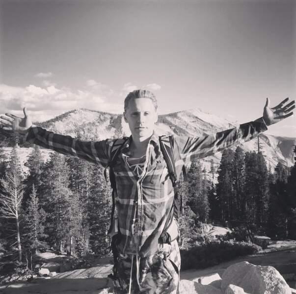 Jared Leto, lui, a préféré l'air frais de la montagne.