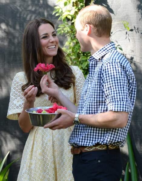 Le secret de William pour séduire Kate ? Les fleurs bien sûr !