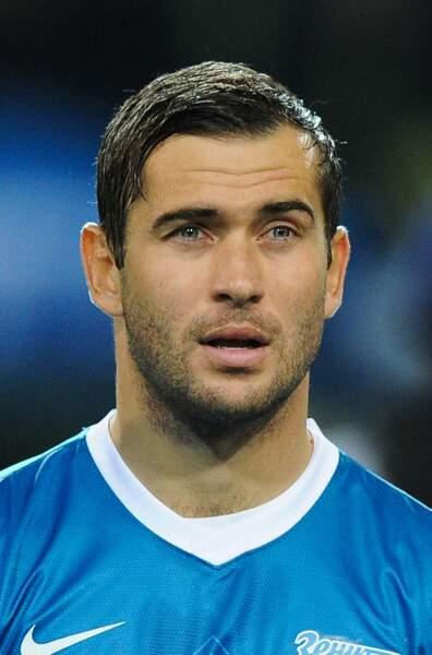 L'attaquant de l'équipe russe Aleksandr Kerzhakov, 31 ans