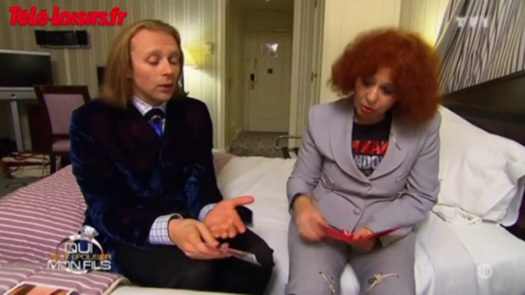Avec sa maman Pascale, ils ont tenté une nouvelle émission, Le dîner Ackermann, un échec..