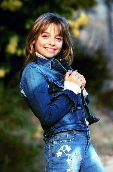 "Priscilla a 12 ans quand sort son premier single ""Quand je serai jeune"" en 2001."