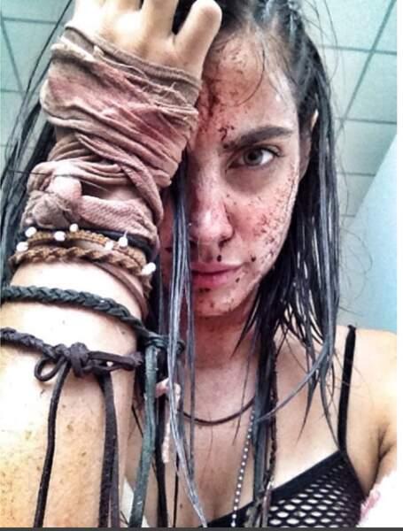 En 2016, elle était à l'affiche du film d'horreur Pacifico