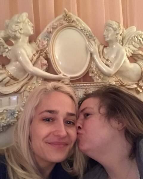 Lena Dunham (Girls) a eu le droit à un réveil en douceur en ce 14 février 2019…