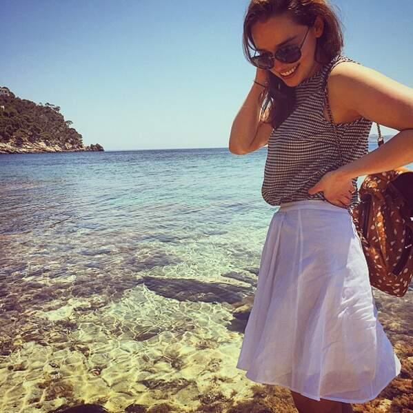 Et Emilia Clarke, la Khaleesi de Game of Thrones, était en Espagne.