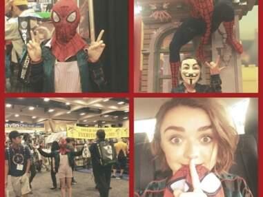 Au Comic Con de San Diego, les stars de films et de séries avancent masquées