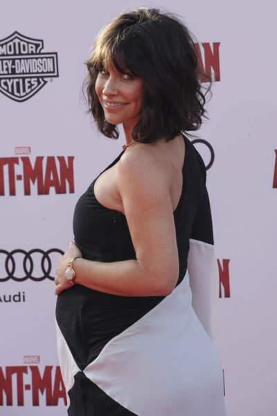 Le 30 juin dernier, elle assure la promo du film Ant-Man avec un ventre bien rond