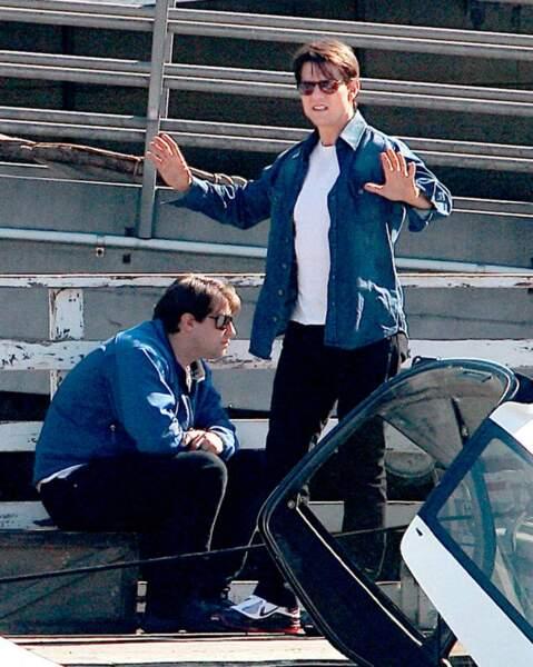 Si Tom Cruise réalise beaucoup de ses cascades lui même, l'acteur a quand même une doublure