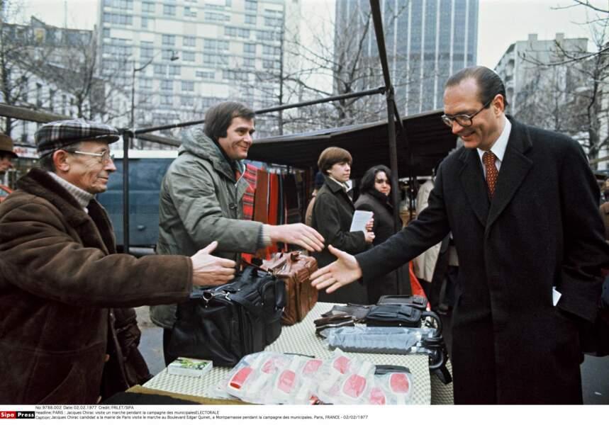 1977 : il se lance à la conquête de Paris...