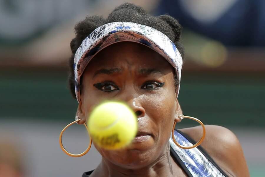 """""""Oh nonnnnnnnnnn !"""" semble nous dire Venus Williams"""