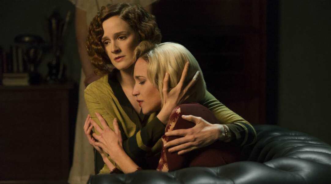 Voici Sara Millan jouée par Ana Polvorosa dans la série...