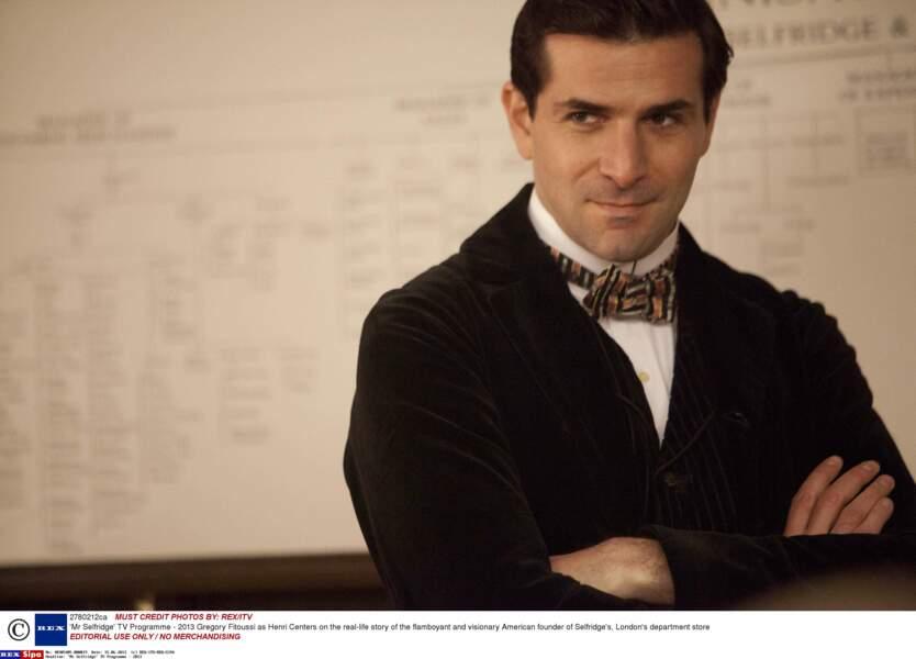 Avec Mr Selfridge, il se lance dans la série historique et anglaise !