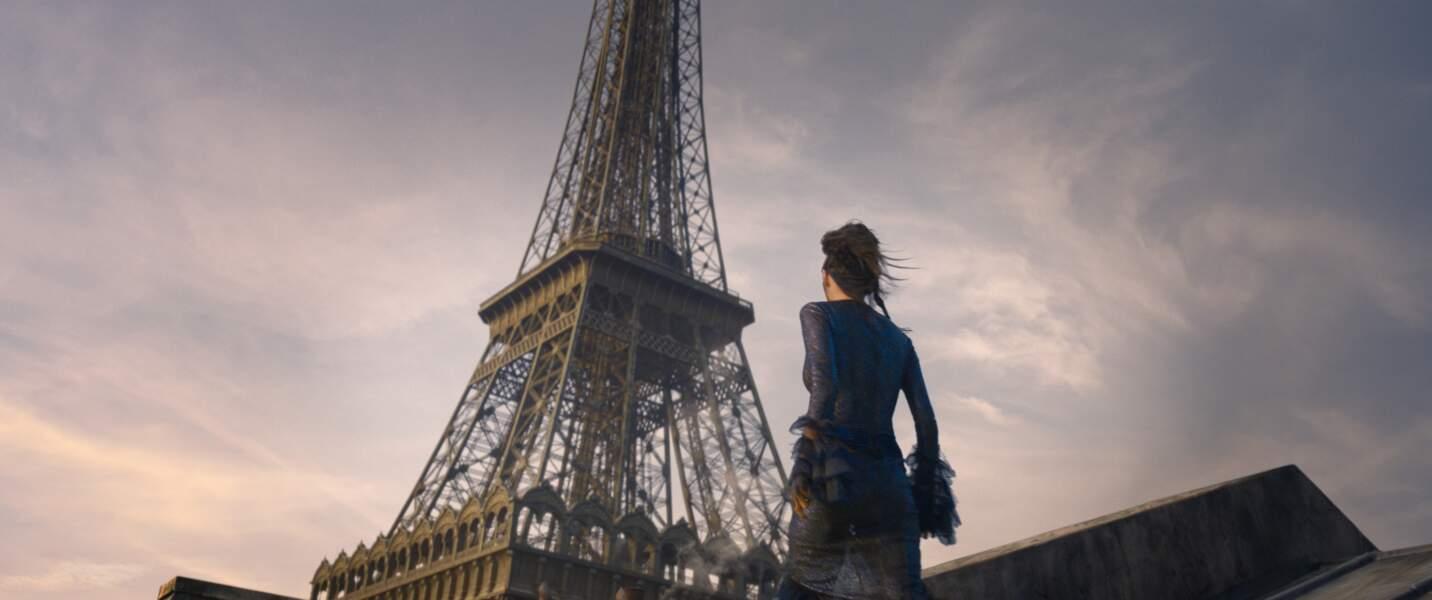 On y voit même la Tour Eiffel...