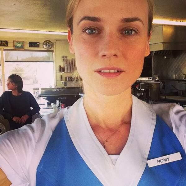 Un burger pour la 12 ! Terminé le métier d'actrice, Diane se recycle dans la restauration