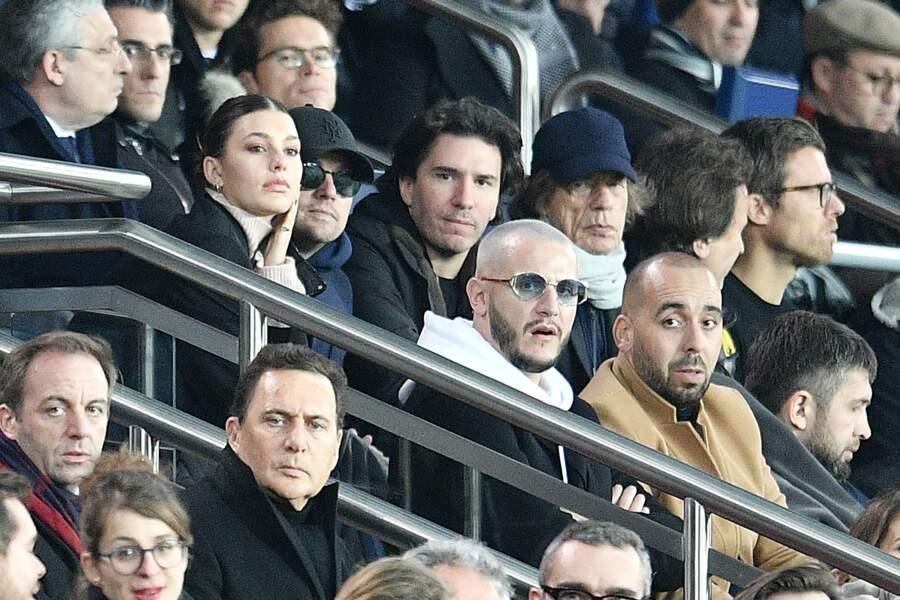 La corbeille du Parc des Princes a accueilli de très grosses stars lors de PSG/Liverpool