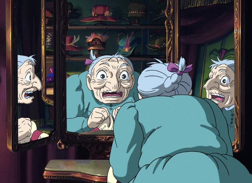 Si Miyazaki aime mettre en avant des enfants, il montre également un grand respect aux personnes âgées