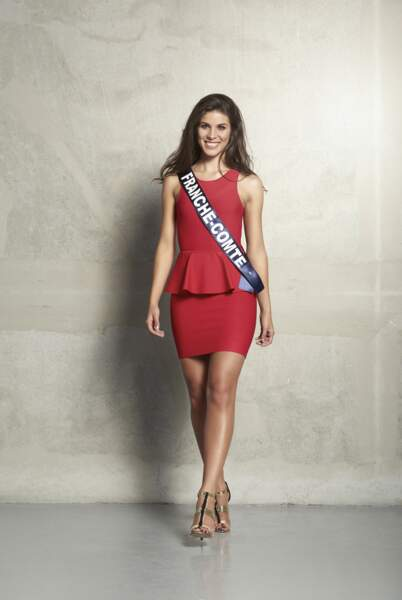 Alizée Vannier, Miss Franche-Comté