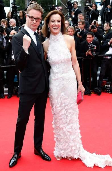 Nicolas Winding Refn et Carole Bouquet : deux membres du jury très complices.