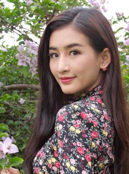 Miss Birmanie : Han Thi Thet Lwin