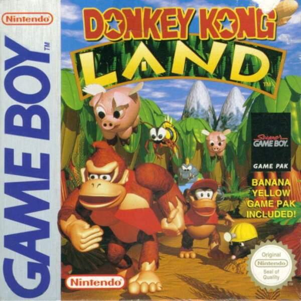 Donkey Kong Land  - Game Boy (1995)