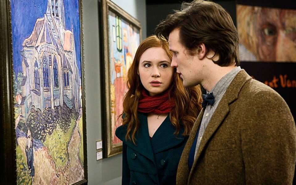 À 26 ans, Matt Smith devient le 11ème Doctor Who de 2010 à 2013 ! Ici avec Karen Gillian (Amelia Pond)