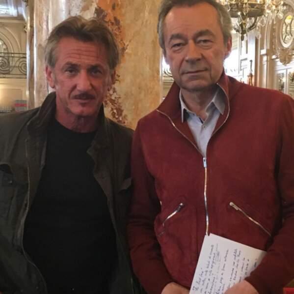 Michel Denisot a rencontré Monsieur Sean Penn. Classe.