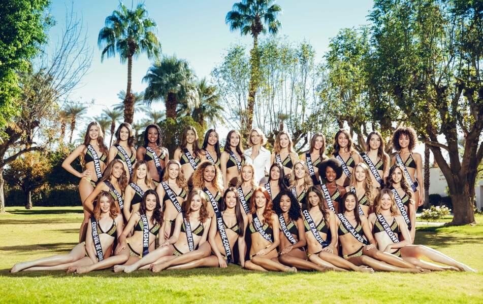 Il est temps de découvrir les Miss régionales lors de la traditionnelle séance photo en bikini